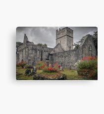 Muckross Abbey - Killarney - County Kerry - Ireland Canvas Print