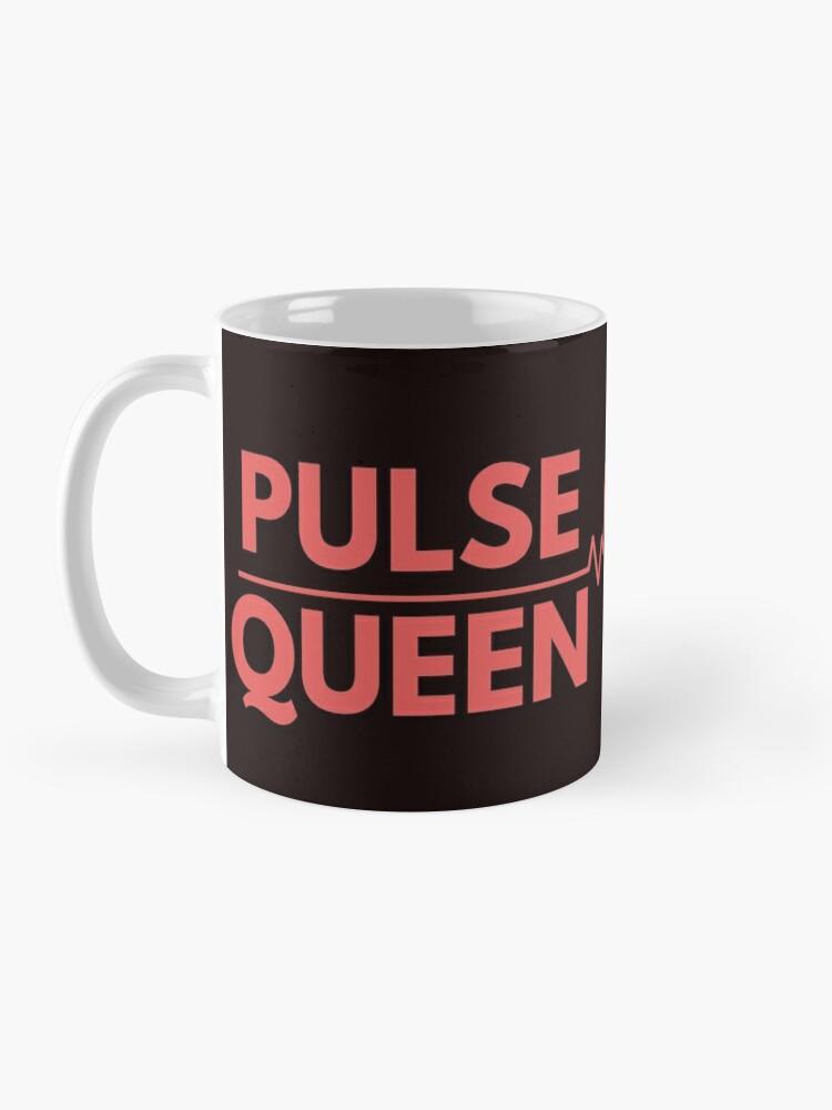 Alternate view of Pulse Queen Heartbeat Mug
