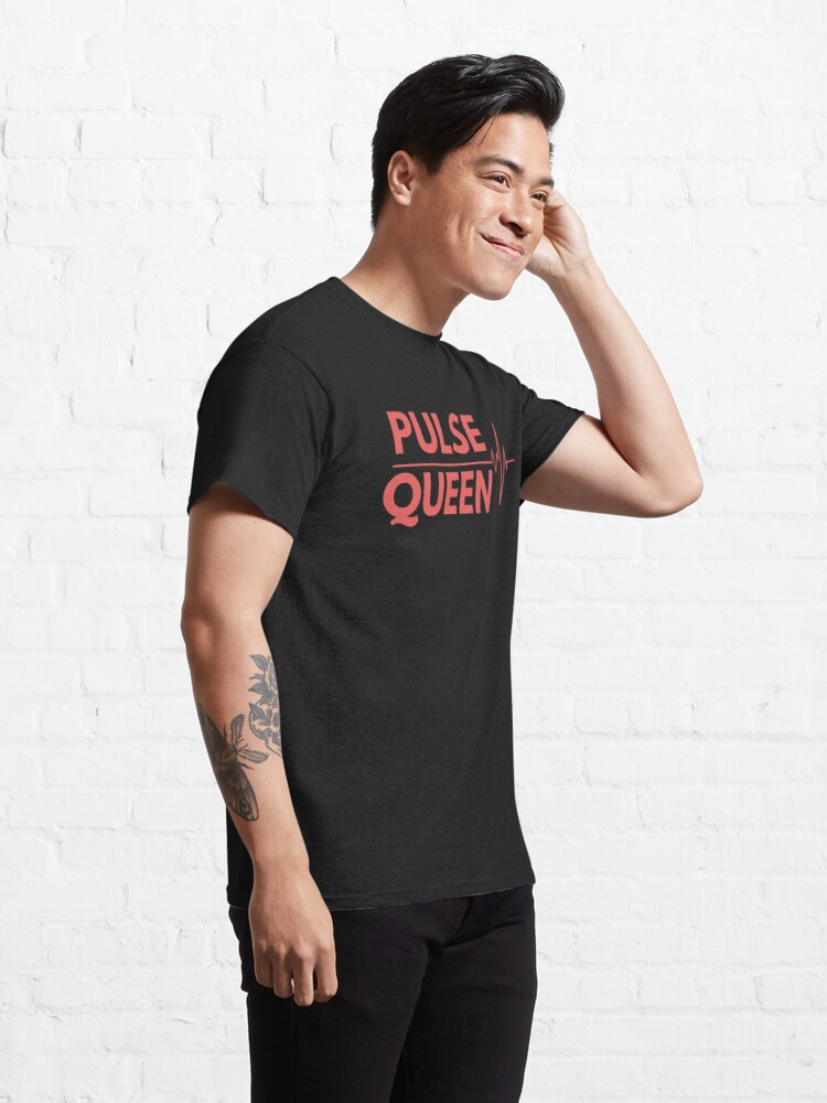 Alternate view of Pulse Queen Heartbeat Classic T-Shirt