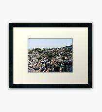 Historic Granada Framed Print