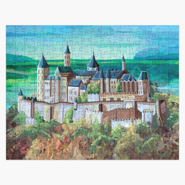 German Castle  Jigsaw Puzzle