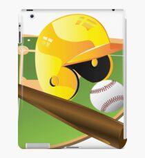 Yellow Baseball iPad Case/Skin