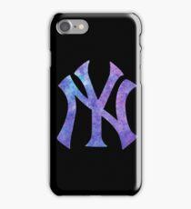 New York Yankees Watercolor Logo iPhone Case/Skin