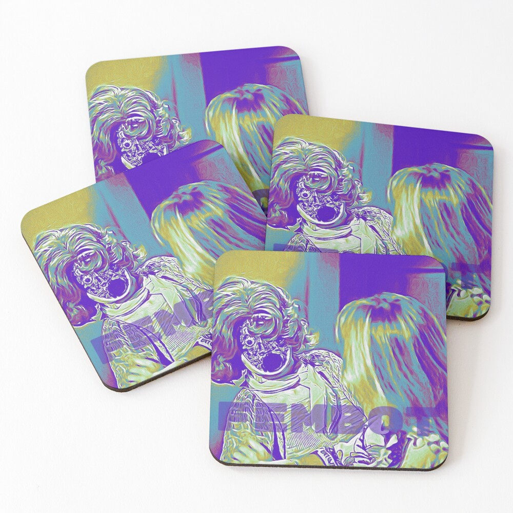 A Fembot Is Revealed Coasters (Set of 4)