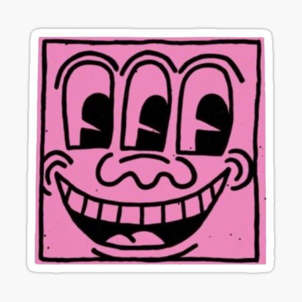 haring pop art Sticker