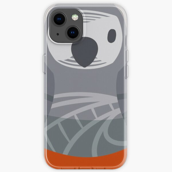African Gray Nesting Doll iPhone Soft Case
