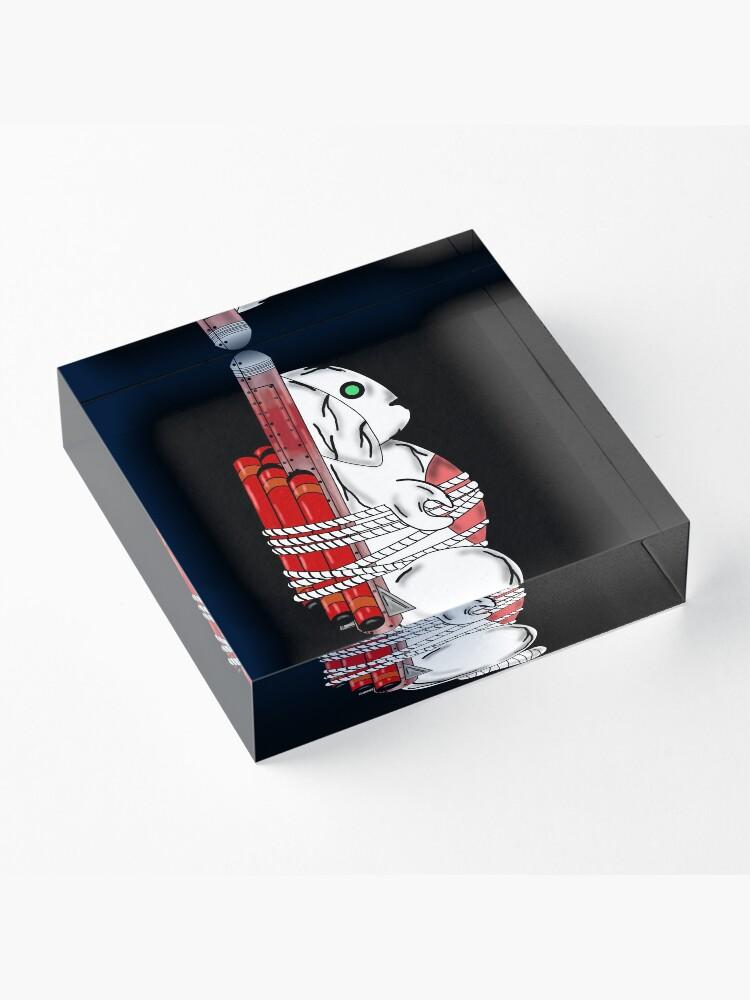 Alternate view of Tiny Tina Bunny Soldier Acrylic Block