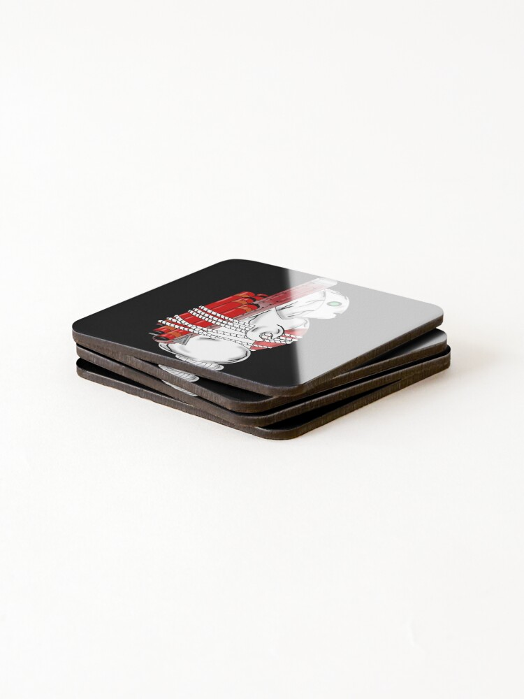 Alternate view of Tiny Tina Bunny Soldier Coasters (Set of 4)