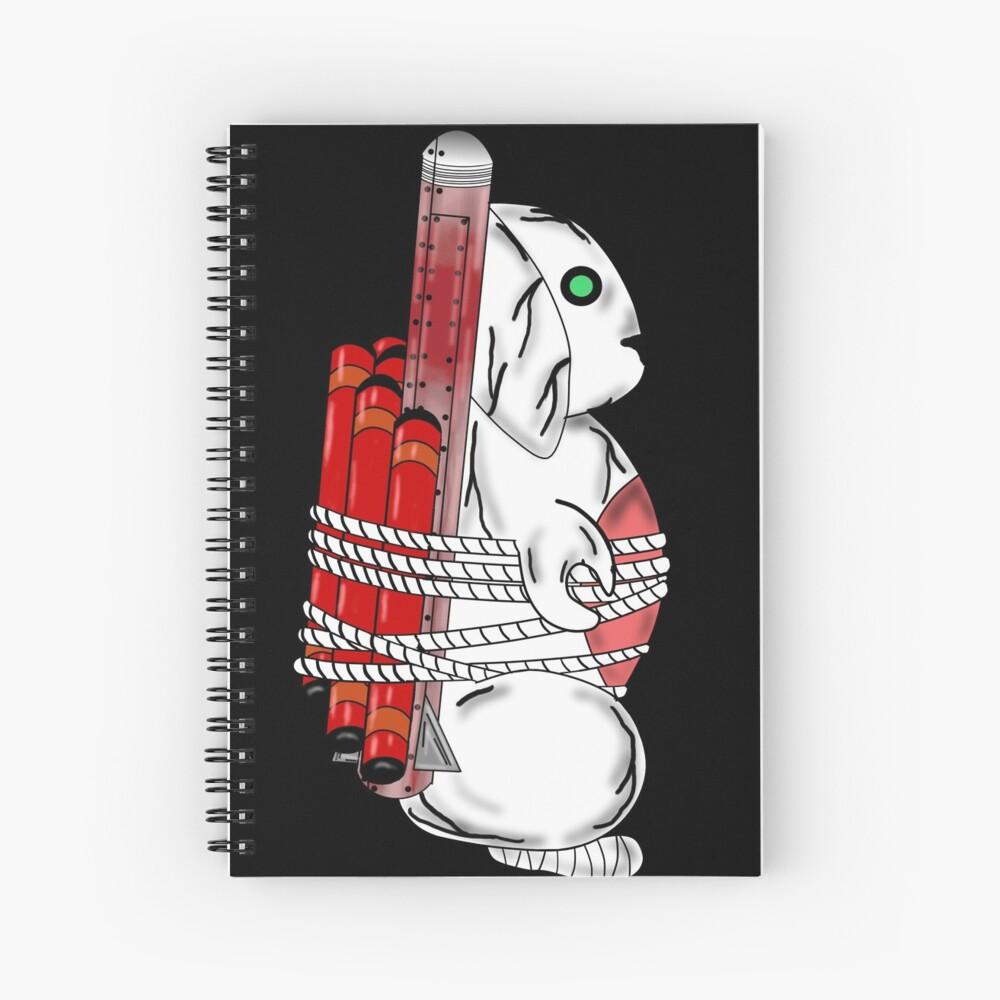 Tiny Tina Bunny Soldier Spiral Notebook