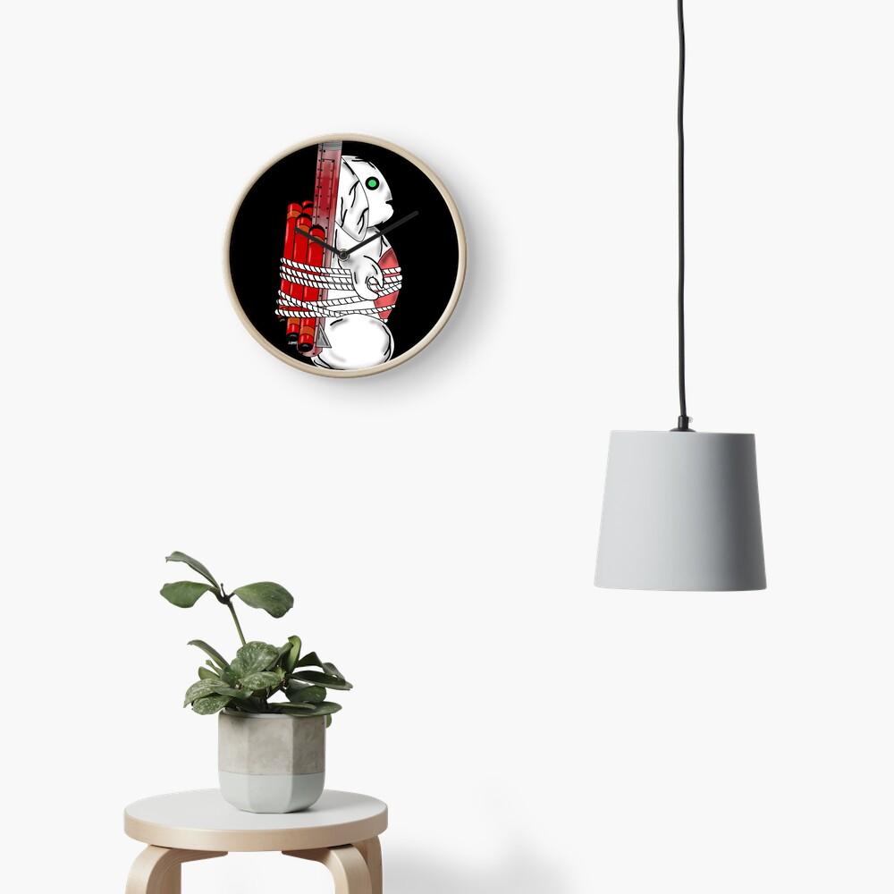 Tiny Tina Bunny Soldier Clock