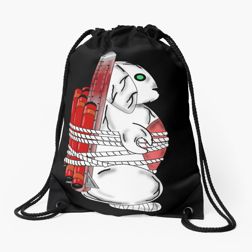 Tiny Tina Bunny Soldier Drawstring Bag