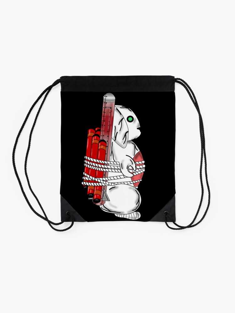 Alternate view of Tiny Tina Bunny Soldier Drawstring Bag