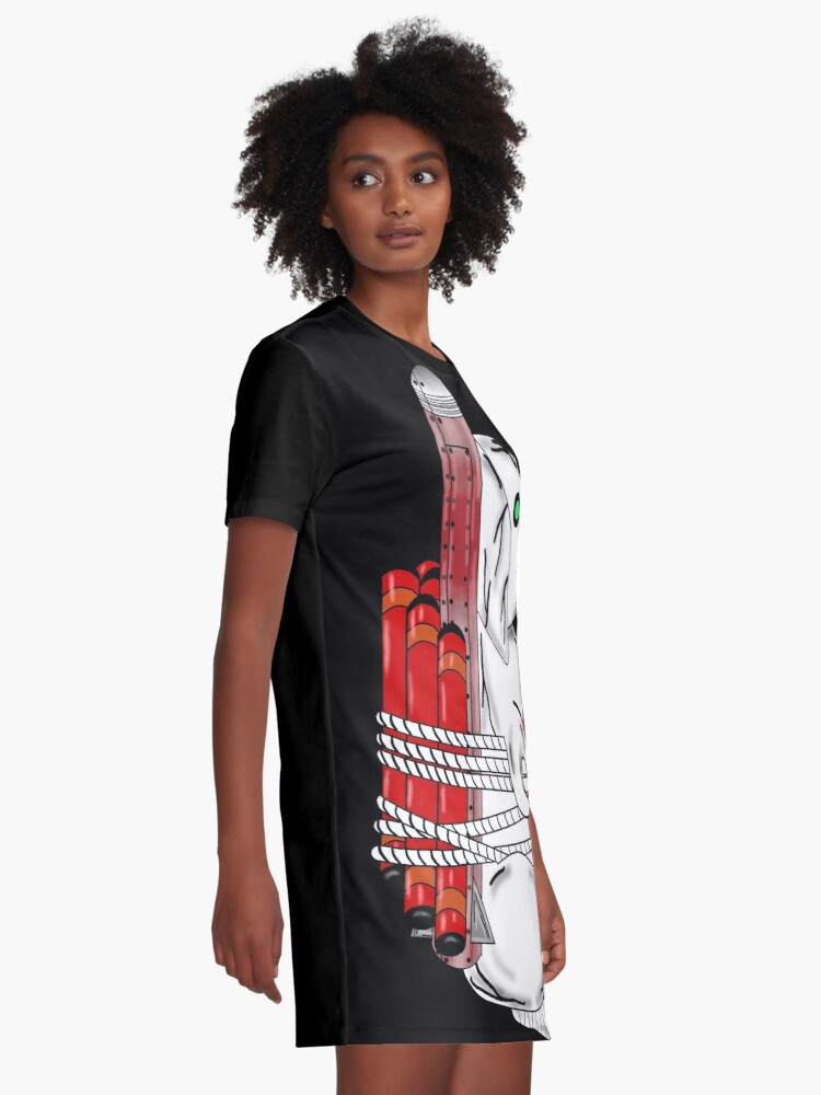 Alternate view of Tiny Tina Bunny Soldier Graphic T-Shirt Dress