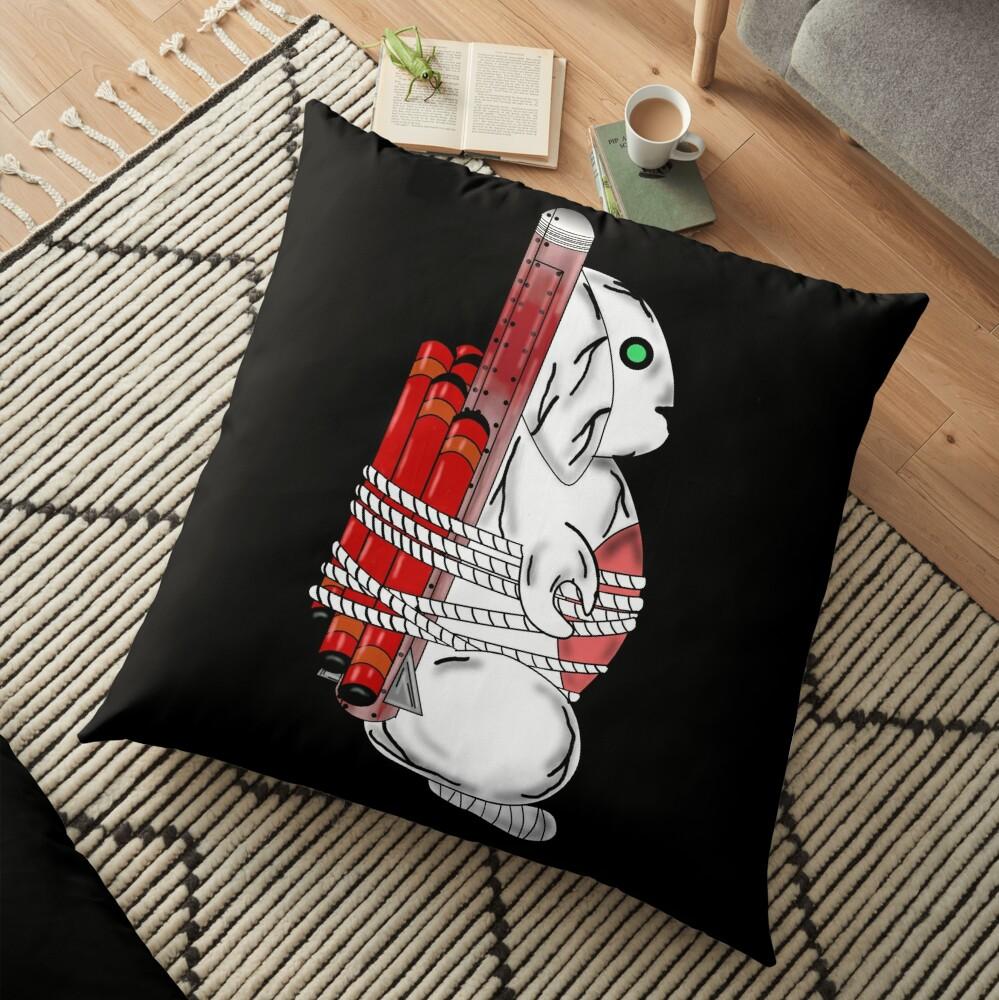 Tiny Tina Bunny Soldier Floor Pillow