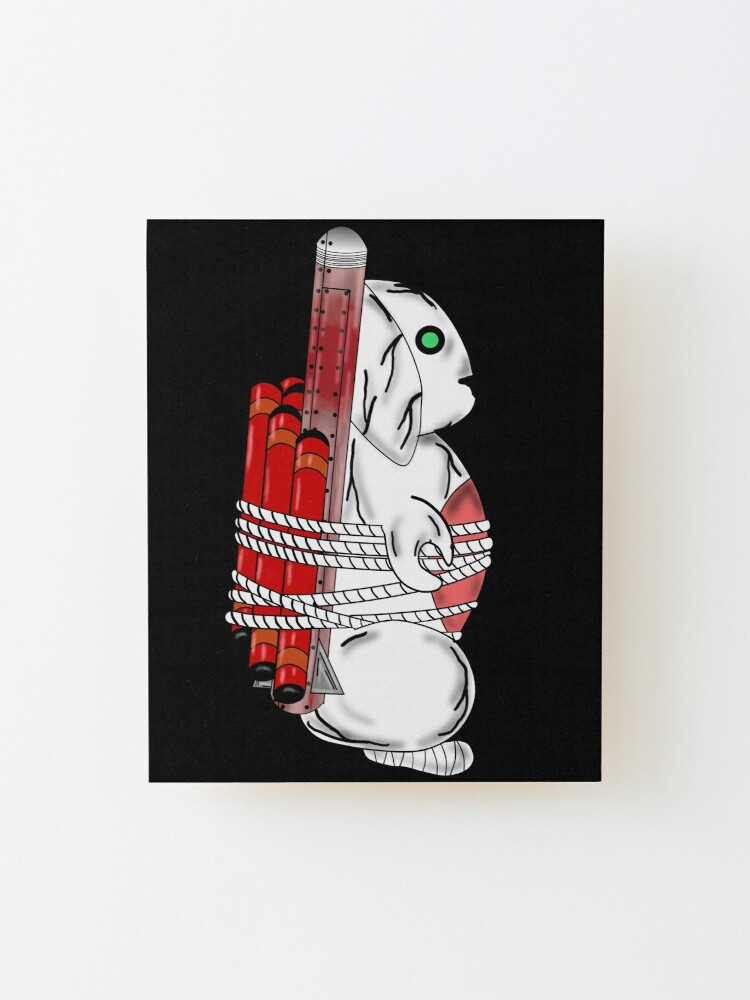 Alternate view of Tiny Tina Bunny Soldier Mounted Print