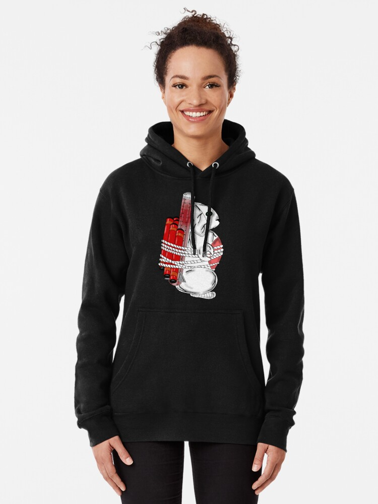 Alternate view of Tiny Tina Bunny Soldier Pullover Hoodie