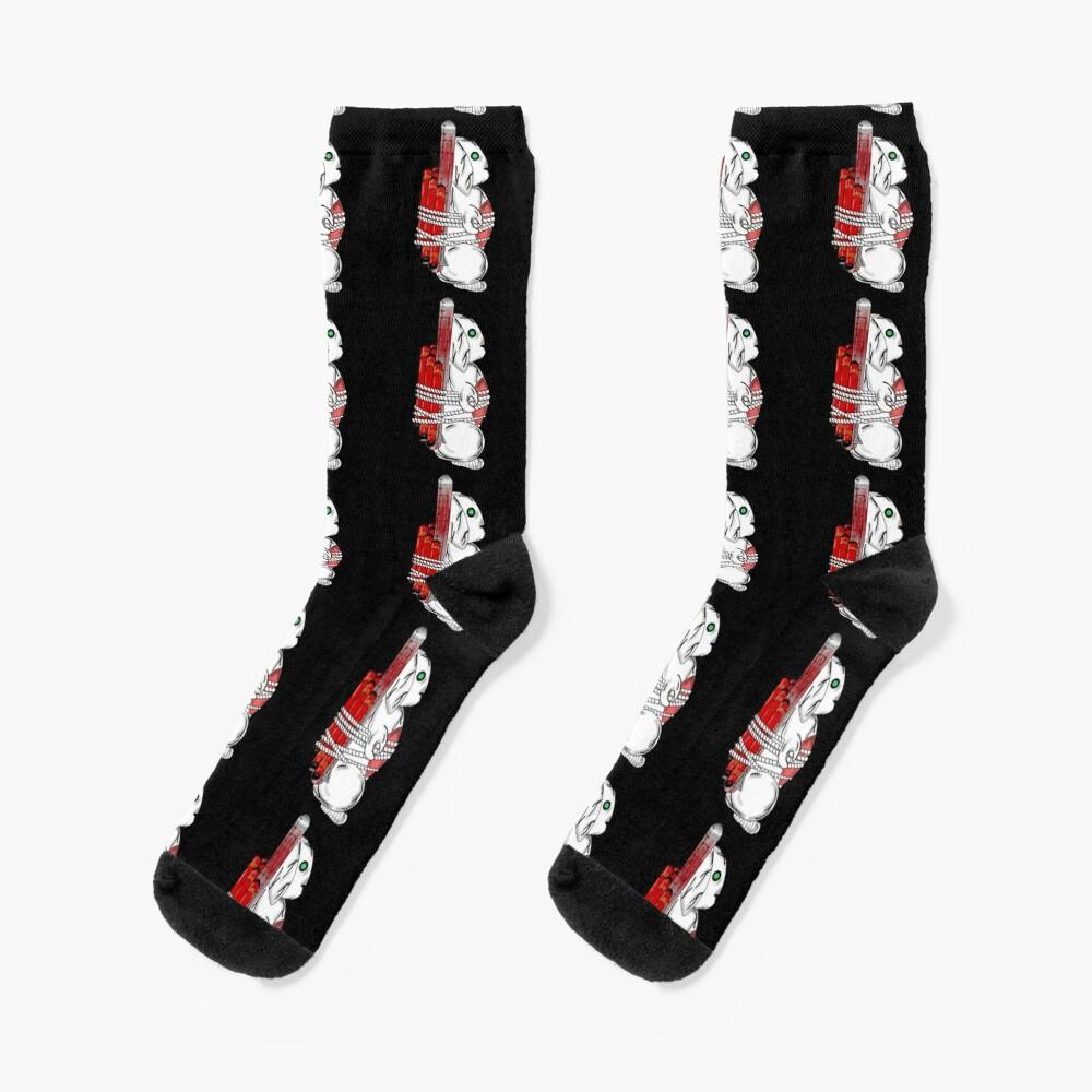 Tiny Tina Bunny Soldier Socks