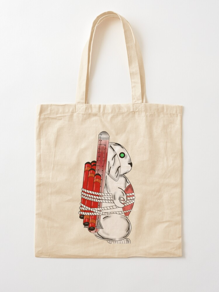 Alternate view of Tiny Tina Bunny Soldier Tote Bag