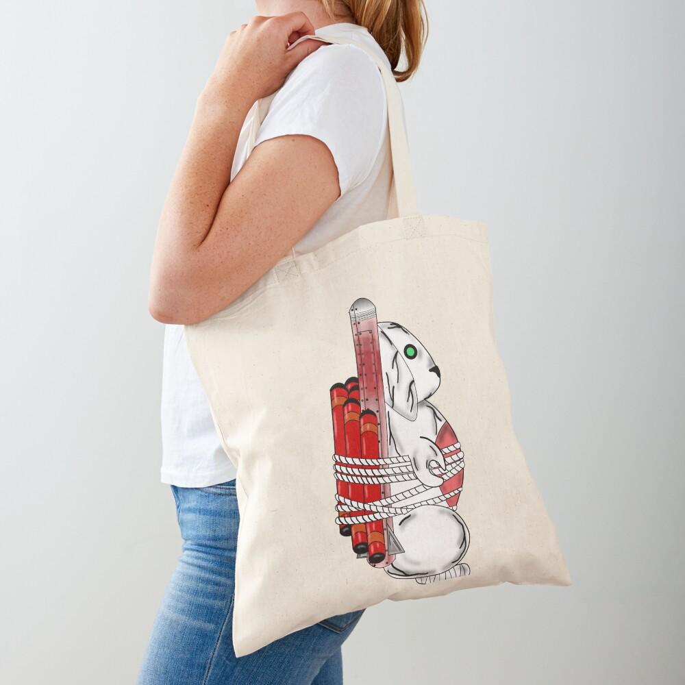 Tiny Tina Bunny Soldier Tote Bag