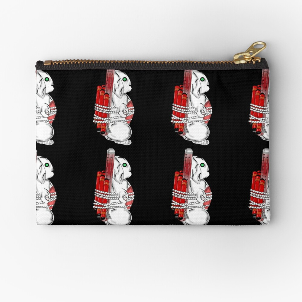Tiny Tina Bunny Soldier Zipper Pouch
