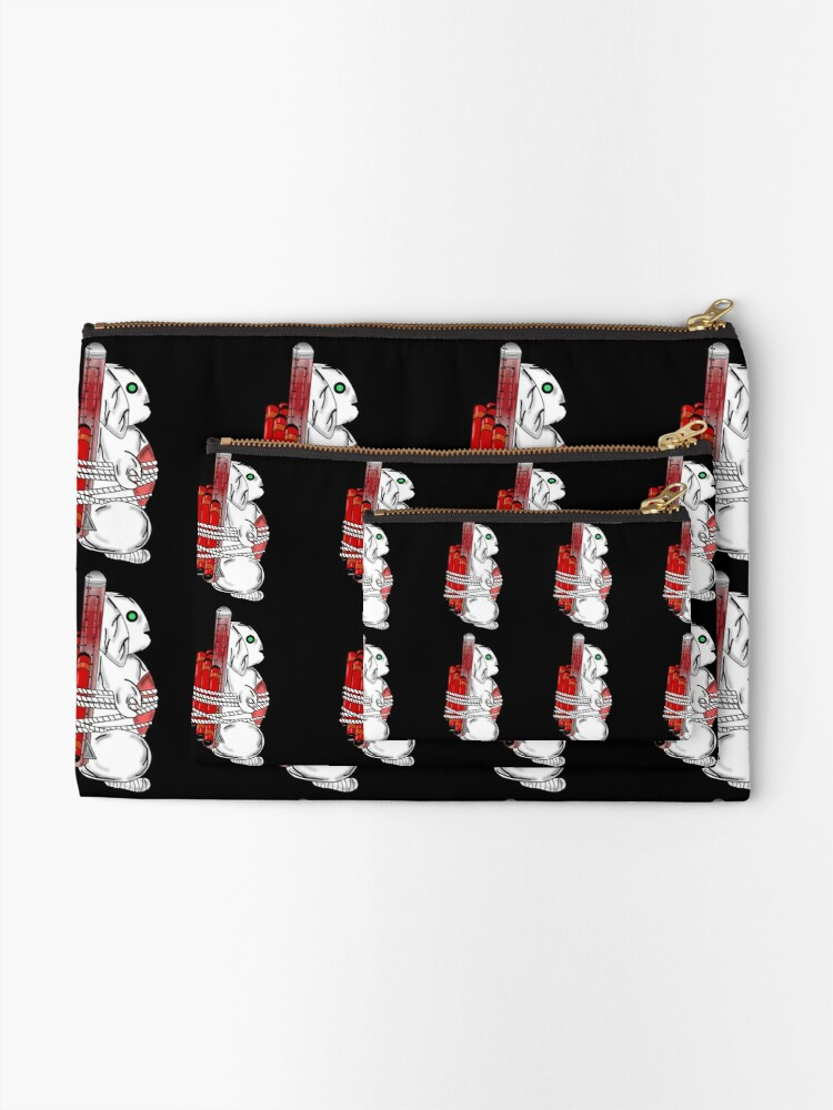 Alternate view of Tiny Tina Bunny Soldier Zipper Pouch