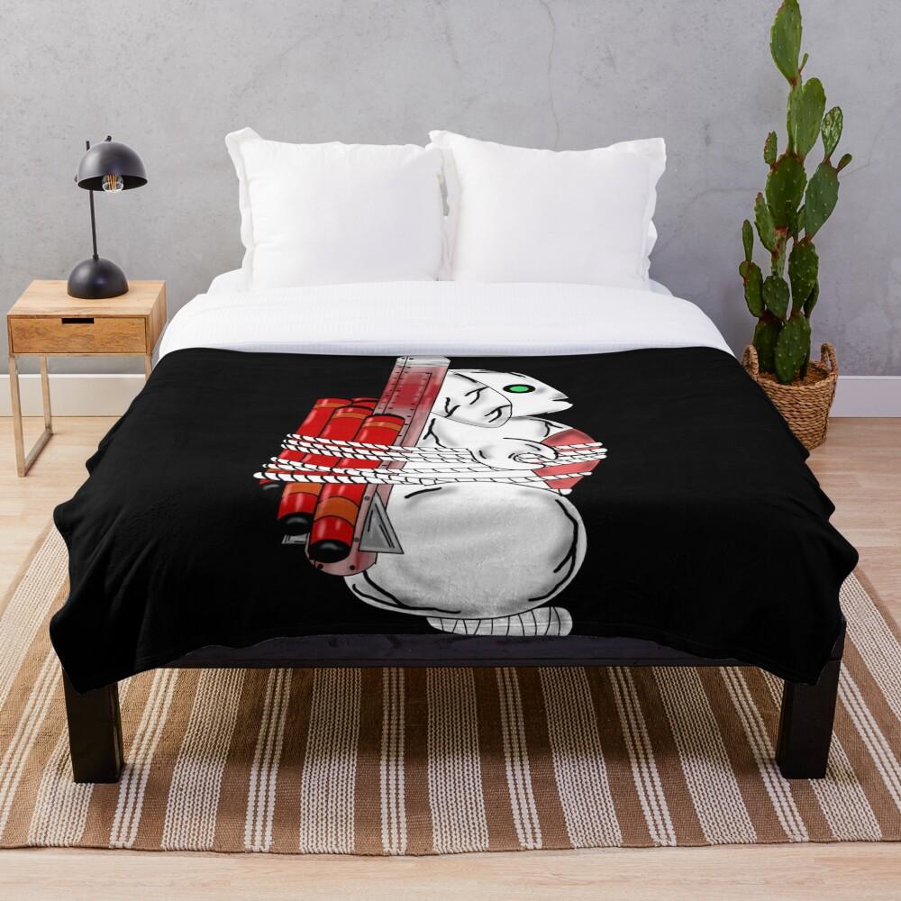 Tiny Tina Bunny Soldier Throw Blanket