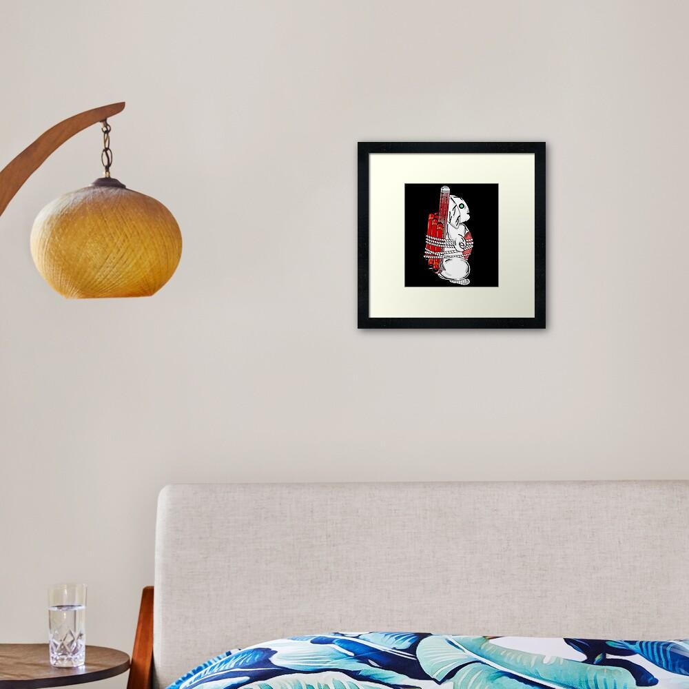 Tiny Tina Bunny Soldier Framed Art Print