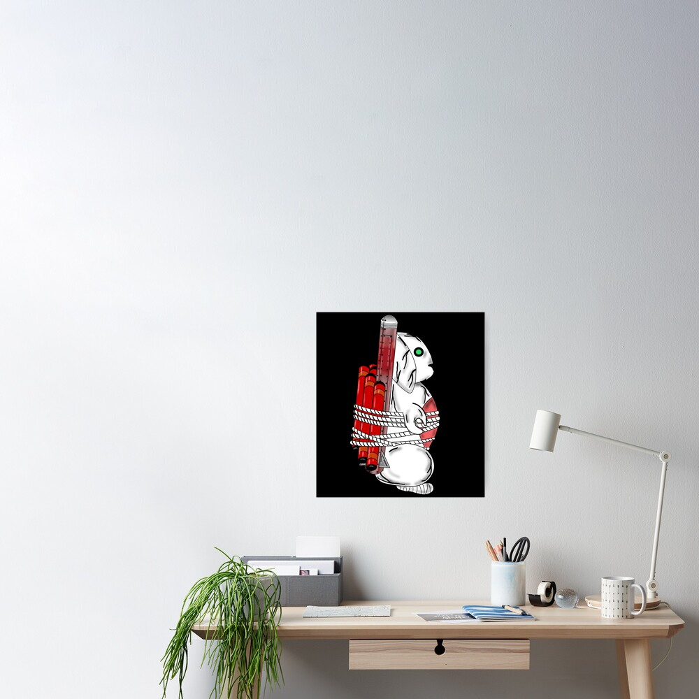 Tiny Tina Bunny Soldier Poster
