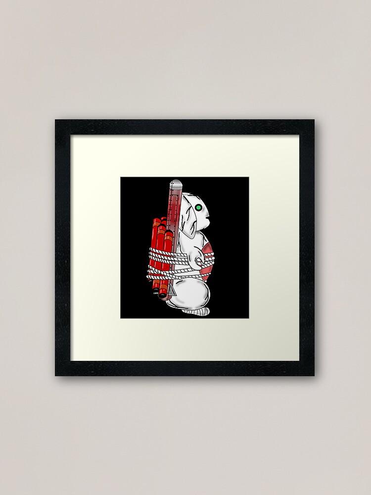 Alternate view of Tiny Tina Bunny Soldier Framed Art Print