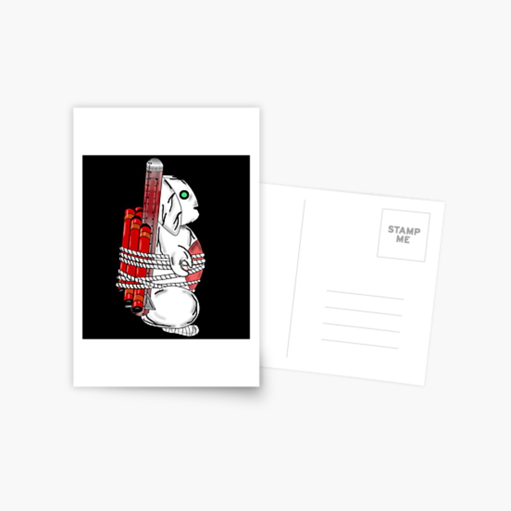 Tiny Tina Bunny Soldier Postcard