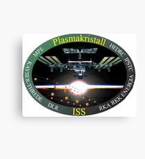 Plasma-Crystal-Experiment Program Logo Canvas Print