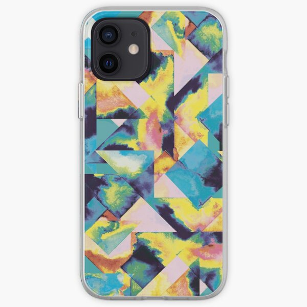 Colored tiles iPhone Soft Case