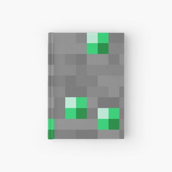 Minecraft - Emerald Ore Hardcover Journal