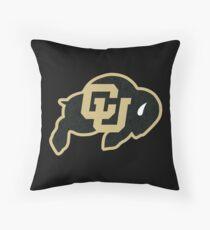 University of Colorado Boulder (felt) Throw Pillow