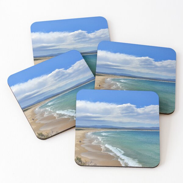 Mallacoota Main Beach November 2019 Coasters (Set of 4)