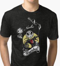 Noche de los Muertos Tri-blend T-Shirt