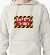 Safety Third Pullover Hoodie