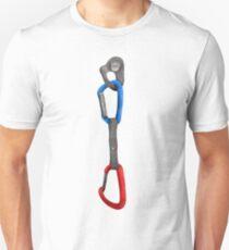 Rock Climbing Carabiner  Unisex T-Shirt