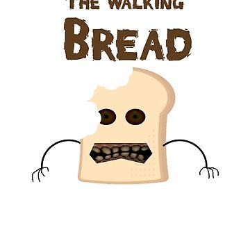 the walking bread by claritykiller