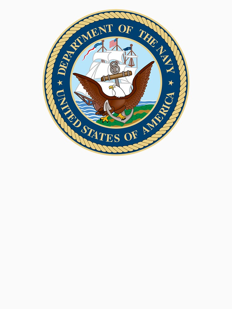 Seal of the United States Department of Navy  by abbeyz71