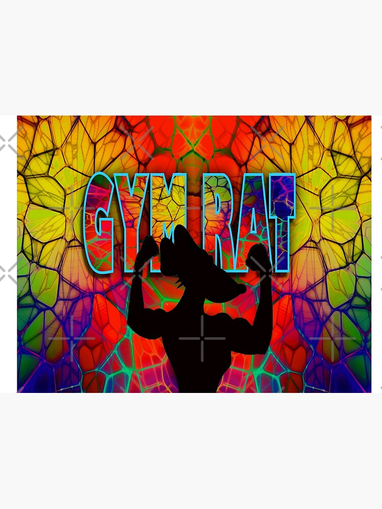 Gym Rat Exclusive Design. Abstracts by RipeBananaShop