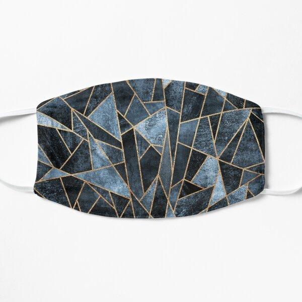 Shattered Soft Dark Blue Mask