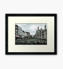 Cambridge, King's College 5 Framed Print