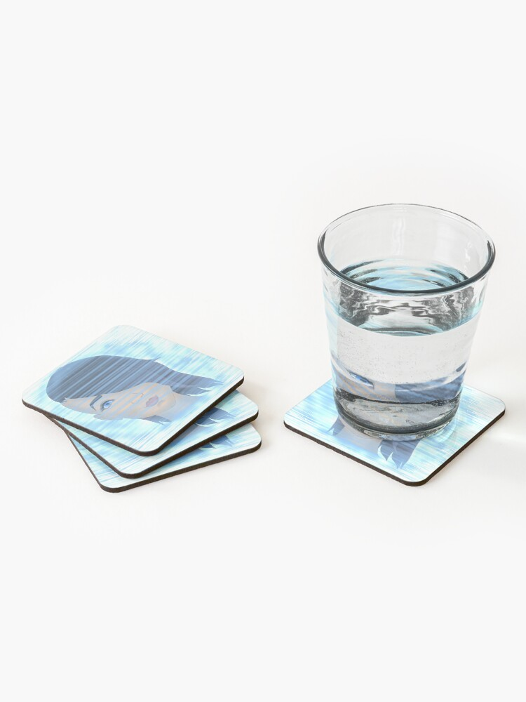 Alternate view of Angel on the Screen Coasters (Set of 4)