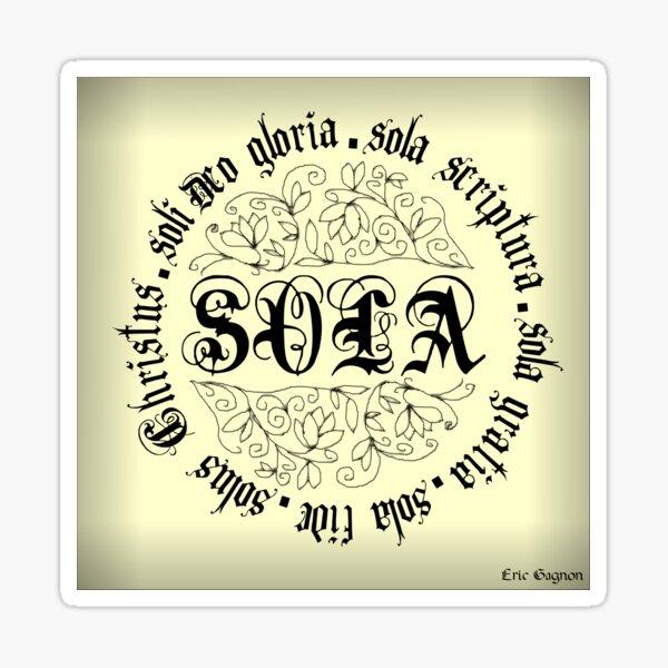 Soli Deo Gloria Sticker