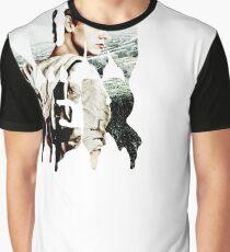 Camiseta gráfica corredor - tritón