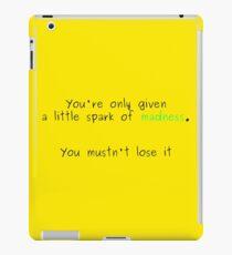 Zitat von Robin Williams iPad-Hülle & Klebefolie