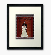 Pride and Prejudice Darcy and Lizzy Framed Print