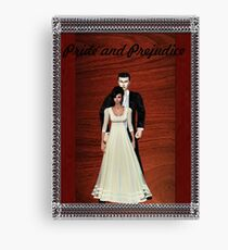 Pride and Prejudice Darcy and Lizzy Canvas Print