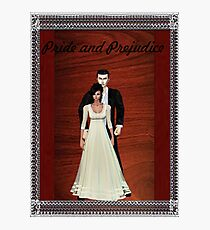 Pride and Prejudice Darcy and Lizzy Photographic Print